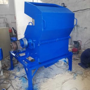 corn cob powdering machine