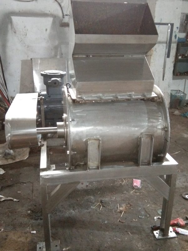 Apple Hammer mill pulper crusher