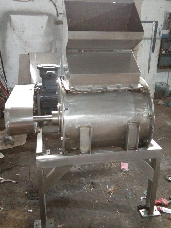 Apple Hammer mill pulper crusher
