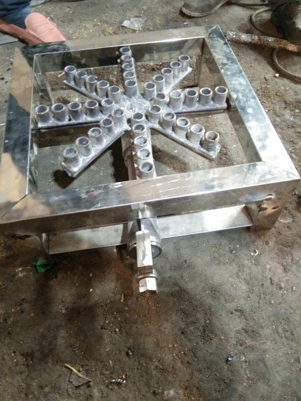 Steel Angethi Stove Burner