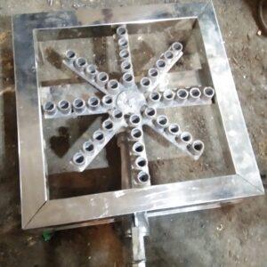 Steel Stove Burner Angethi